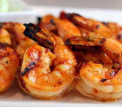 Spicy Shrimp On Skewers