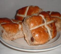 Square Hot Cross Buns