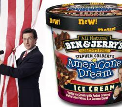 Stephen Colbert's Americone Dream Ice-cream