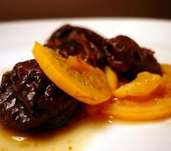 Prunes In Orange Syrup