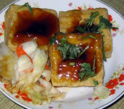 Stinky Tofu Fried