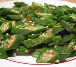 Stir-Fried Okra