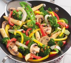 Stir Fried Vegetable