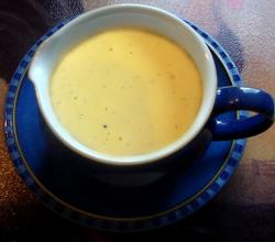 Stirred Custard Or Custard Sauce Recipe