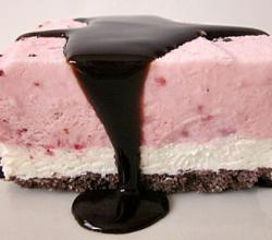 Strawberry Ice Cream Torte