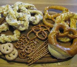 sweet and hearty pretzels