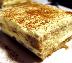 Tiramisu With Homemade Mascarpone
