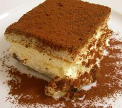 Tiramisu at La Bettola da Ochiai