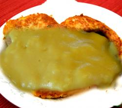 Tuna Patties Hollandaise