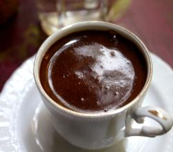 Turkish Chocolate Coffee