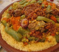 Variations of Moroccan Couscous