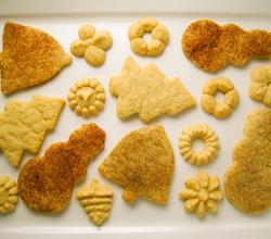 Various vegan sugar cookies