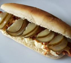 Vegatrian Hot Dog - Danish Style