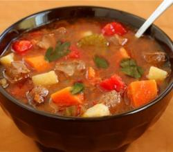 Vegetable Beef N Herb Soup