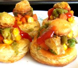 Vegetable Vol Au Vents
