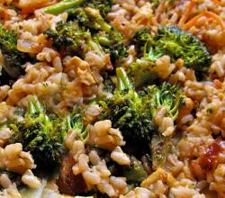 Vegetables As A Main Dish With Brown Rice
