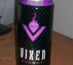 Vixen Foxberry energy drink