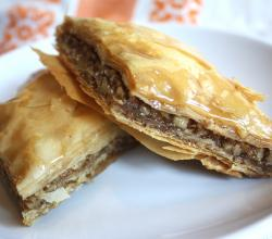 Walnut Meat Baklava