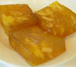 water chestnut cake