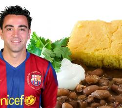 Xavier Hernández with Beans and Cornbread