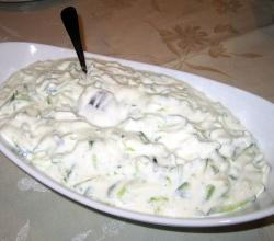 Yogurt and cucumber Salad