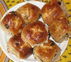yummy Hot Cross Buns