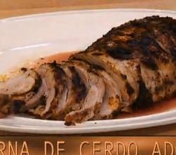 Mexican Roasted Leg Of Pork In Adobo Sauce