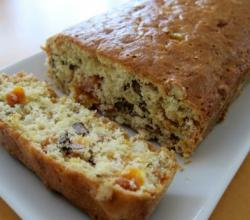 Pineapple-Apricot-Nut Loaf