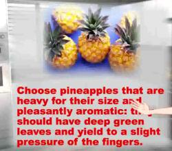 Tips On Buying And Storing Pineapples