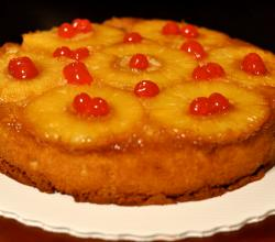 Pineapple Upside Down Cake Bottom