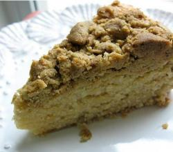 Sunday Morning Pistachio Coffee Cake