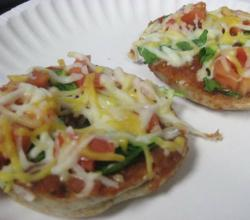 Bagel Pizza Bites