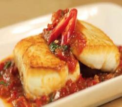 Pla Raad Prik | Panfried Fish with Sweet & Sour Chili Sauce - Hot Thai Kitchen