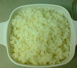 Plain Baked Rice