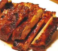 Plum Good Spareribs