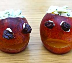 How to Make Plum Skulls