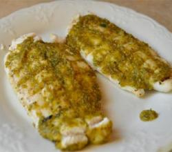Poached Fillet Sole Princesse