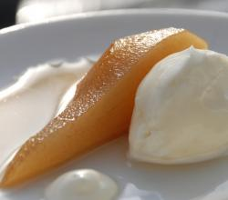 Orange Poached Pears