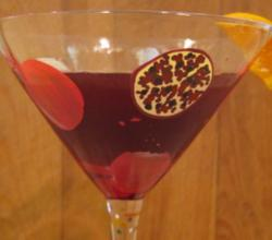 Gluten Free Pomegranate Martini