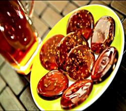 Poolaki (A Persian Saffron & Sesame Candy)