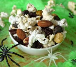 Fun Halloween Popcorn Trail Mix