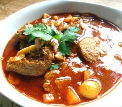 Pork and Paprika Stew