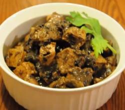 Filipino Pork and Tofu in Oyster Sauce