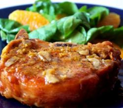 Pork Chops with Oranges