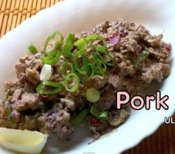 Authentic Pig Sisig