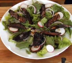 Portobello Steaks Salad