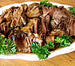 Healthier Barbecued Pot Roast