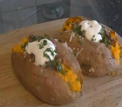 Stuffed Sweet Potatoes - MYVIRGINKITCHEN