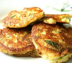 Potato Pancakes With Chives
