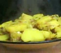 Moroccan Potato Tajine